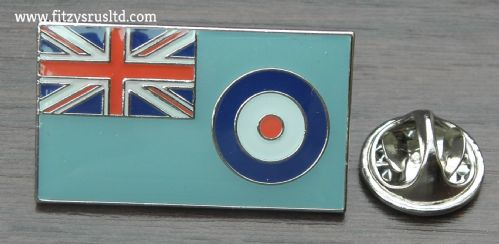 Air Force Flag Lapel Hat Cap Tie Pin Badge RAF Brooch